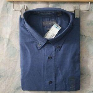 NWT Covington blue easy care shirt XL